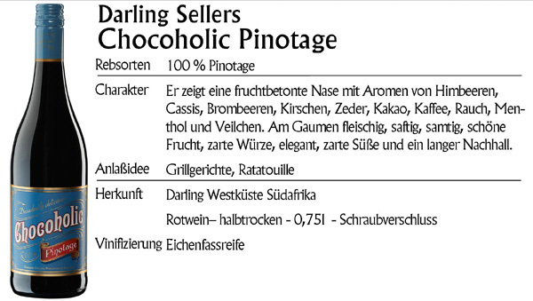 Darling Sellers Chocoholic Pinotage 2015