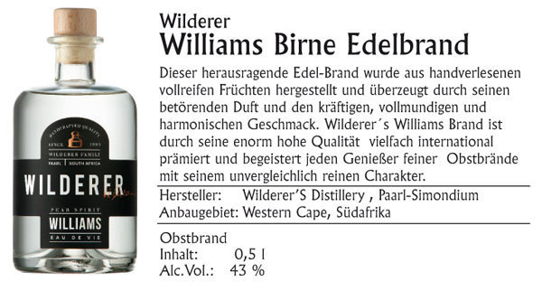 Wilderer Williams