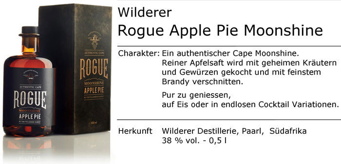 Wilderer Rogue Apple Pie Moonshine