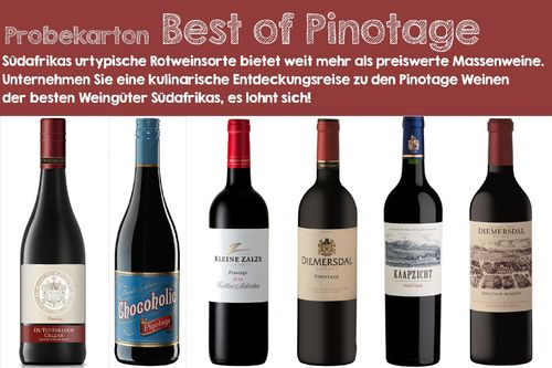 Probekarton Best of Pinotage