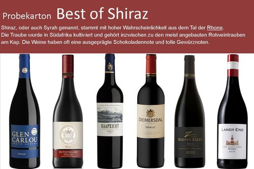 Probekarton Best of Shiraz