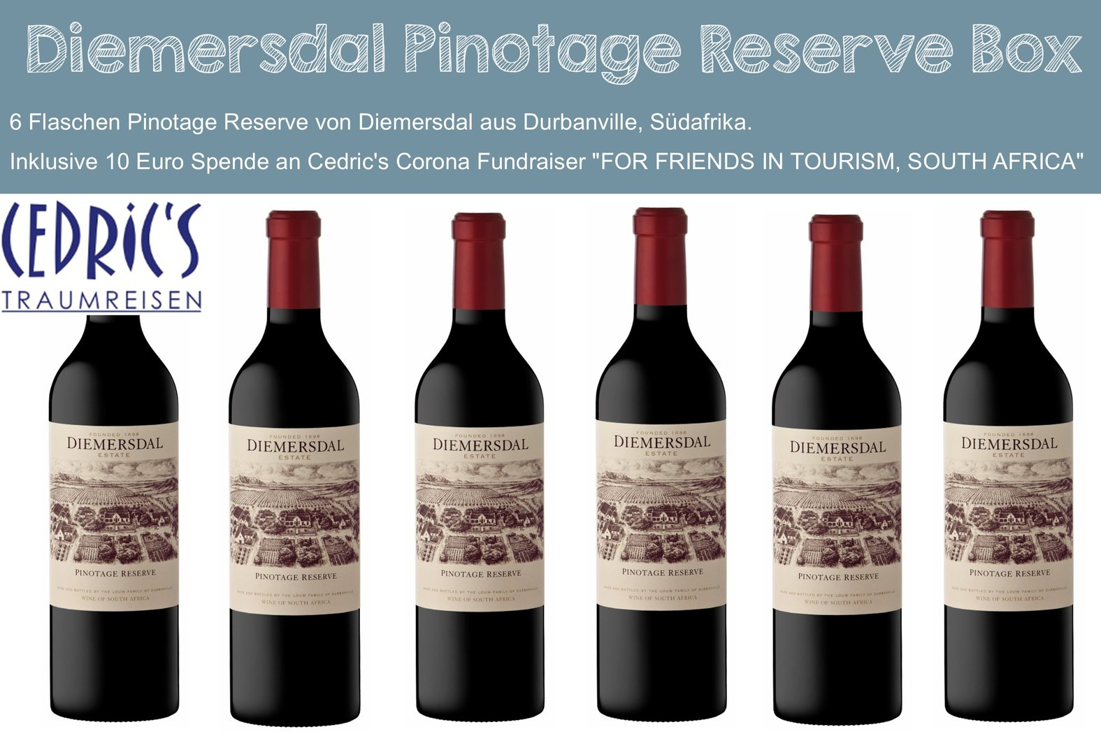 Diemersdal Pinotage Reserve Box