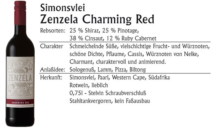 Simonsvlei Zenzela Charming Red