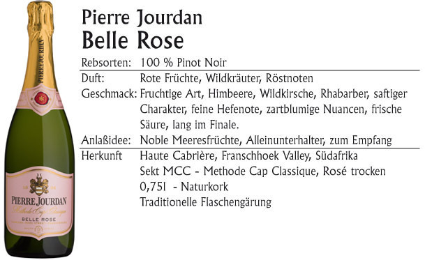 Pierre Jourdan Belle Rose Sekt MCC